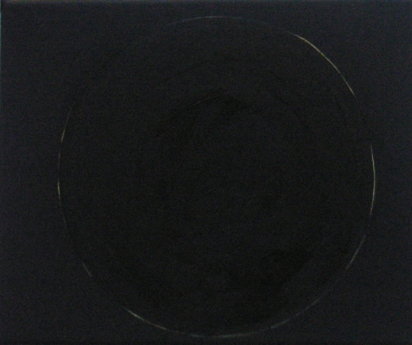Black Sun, 30x25cm, oil on canvas, 2006